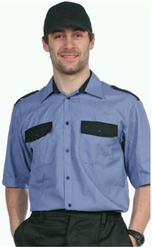 """Рубашка """"Охрана-1"""" (короткий рукав)"""